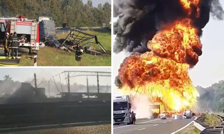Prizori užasa s autoceste: Dvoje ljudi poginulo u teškoj nesreći