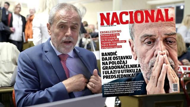 Milan Bandić daje ostavku i kandidira se za predsjednika?