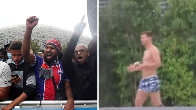 Navijači PSG-a satima čekali Messija, a on se brčka u bazenu