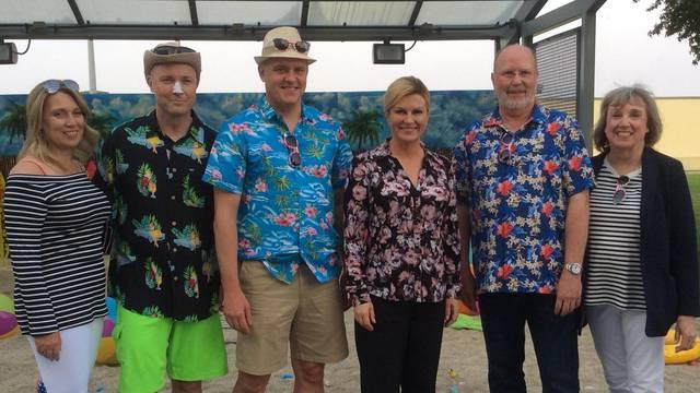 Šarene košulje bile su hit na zabavi u veleposlanstvu SAD-a