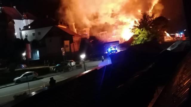 Požar u Svetištu u Mariji Bistrici