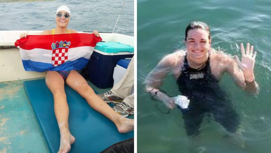 Dina Levačić preplivala kanal Molokai: Trebalo joj je 13 sati