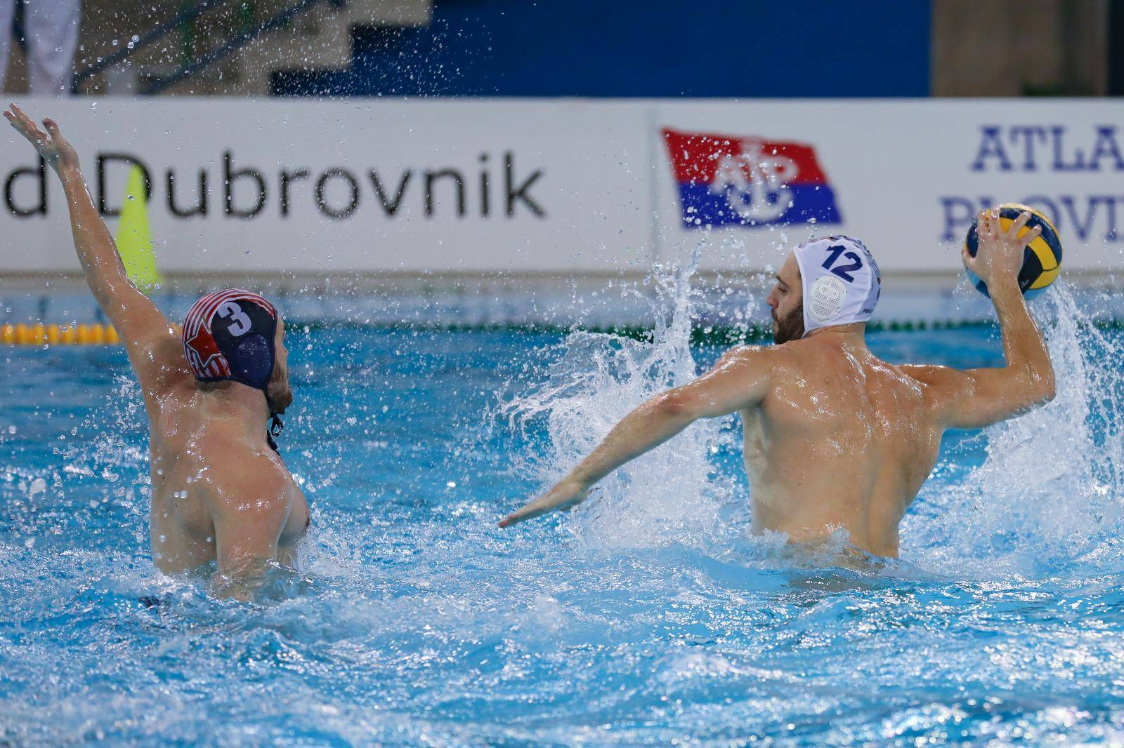 Dubrovnik: Regionalna vaterpolo liga, Jug Adriatic osiguranje - Crvena Zvezda