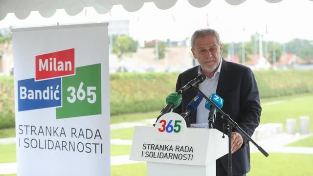 Zagreb: Konferencija za medije Stranke rada i solidarnosti