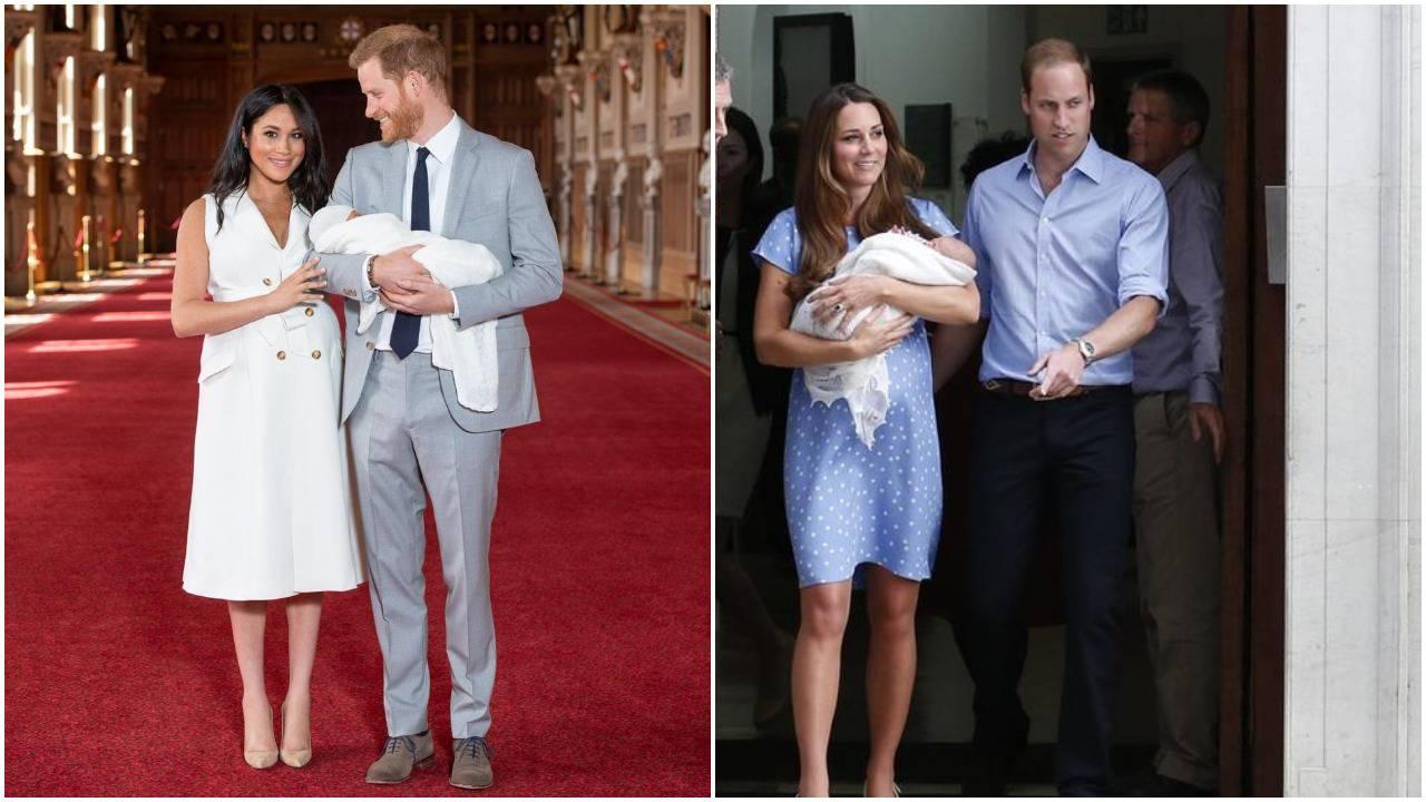 Opet prekršila pravila: Meghan je trebala držati sina u rukama