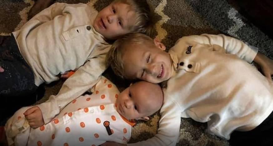 Tri brata, svi imaju manje od 5 godina i istu vrstu karcinoma