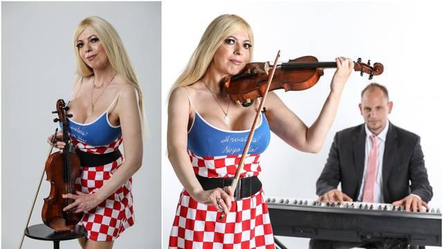 Violinistica Bianca ne gubi nadu i vjeruje u trijumf protiv Škota: Molim krunicu za reprezentaciju