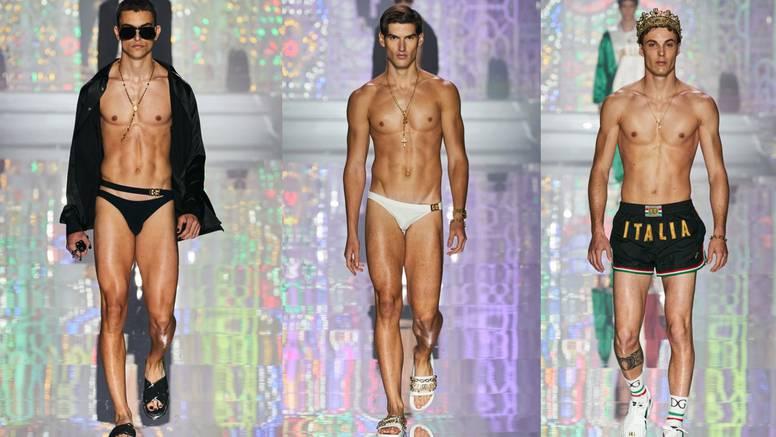 Carevo novo ruho: Ljetni Dolce & Gabbana dečki nose kupaće gaće i zlatne krune na glavi