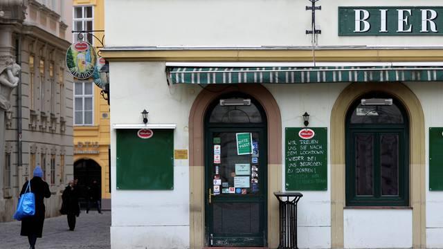 Second COVID-19 lockdown in Vienna