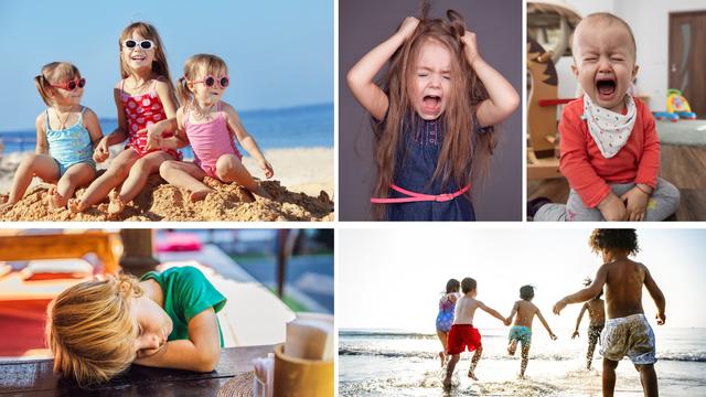 Vodič za preživljavanje odmora s djecom: Preživite  cendranje, plakanje, vrištanje, skakanje...