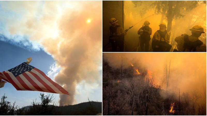 Požari divljaju zapadom SAD-a: Neki manji gradovi su spaljeni