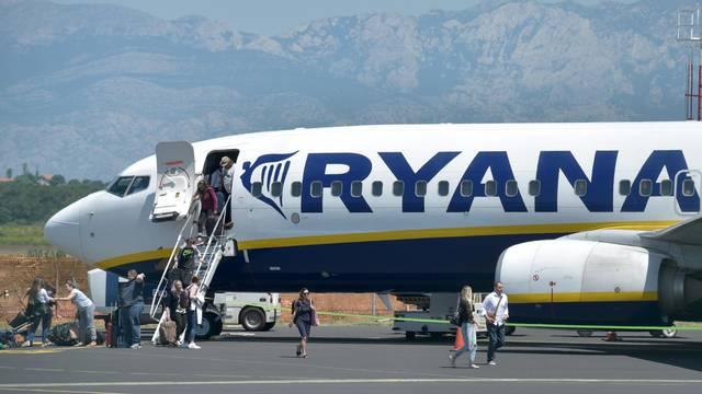 Ryanair od srpnja ponovno leti iz Hrvatske: Iz Zadra 10 linija