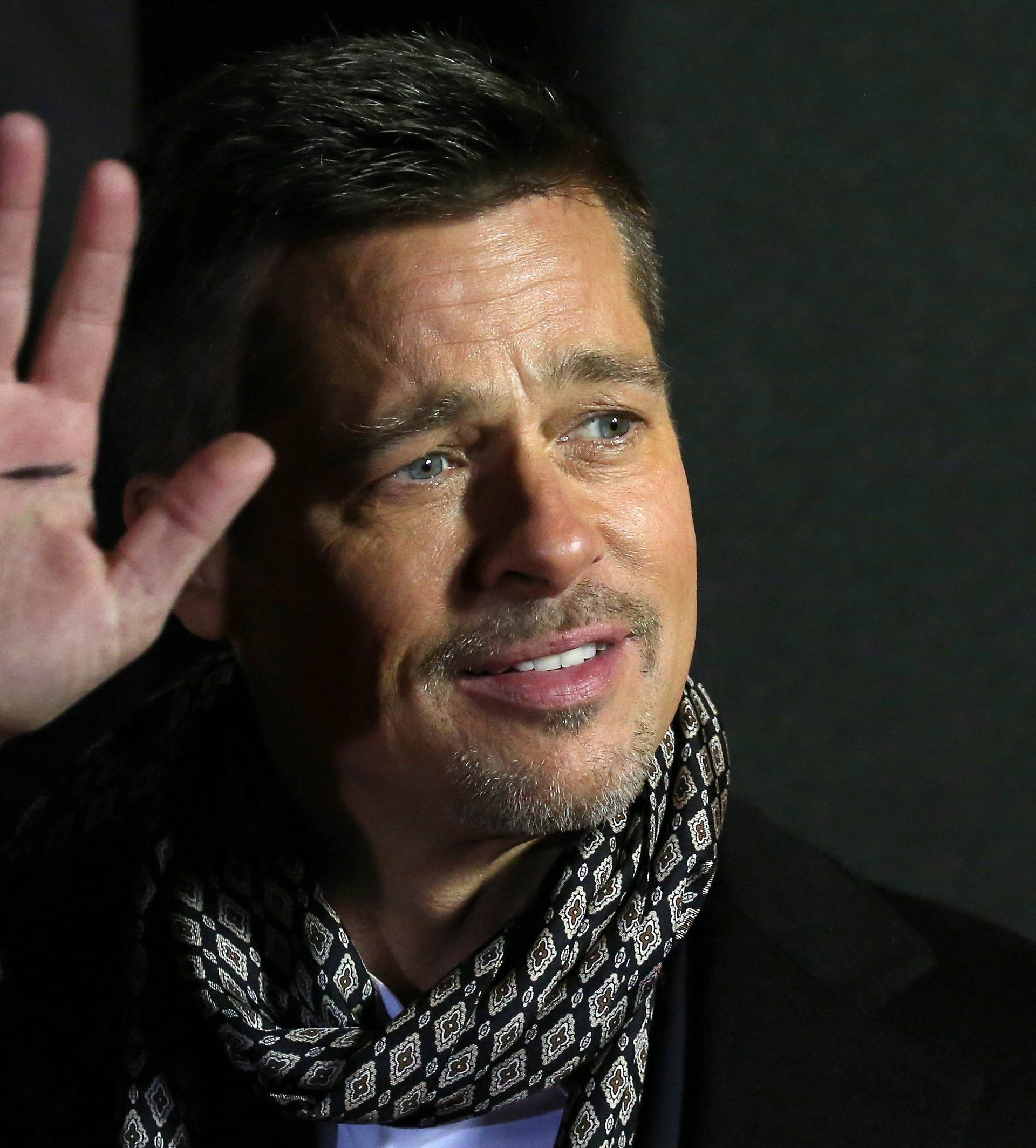 """Actor Brad Pitt arrives at the premiere of the film """"Allied"""" in Madrid"""