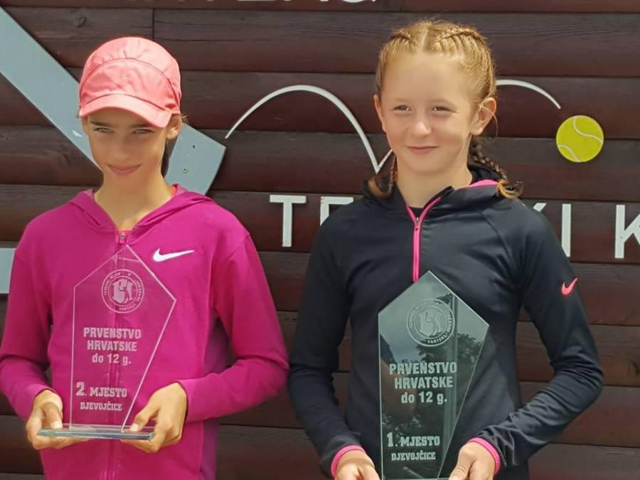 Teniski prvaci do 12 godina su Antonio Voljavec i Lana Preis