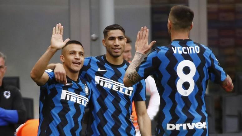 Sampdoria je napravila špalir Interu pa primila pet komada