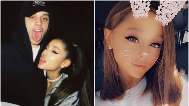 Frizura za novi početak: Ariana se ošišala i skinula konjski rep