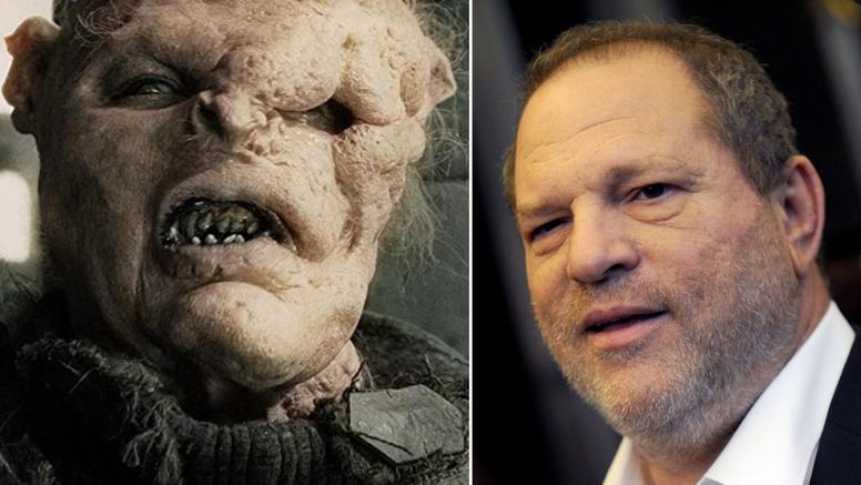 Orka iz 'Gospodara prstenova' radili po uzoru na Weinsteina: 'To mu je bila poruka da odje*e'