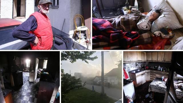 'Prošao je kraj mene i zapalio nam kuću. Ispuzala sam van'
