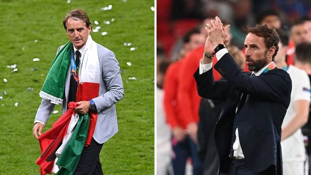 Southgate: Ja sam krivac za penale! Mancini u suzama: Ovo je za sve Talijane, neka slave