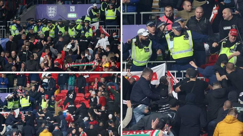 Žestok obračun na Wembleyju: Engleska policija pendrecima udarala mađarske navijače!