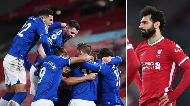 Strašan derbi: Everton nakon 20 godina srušio Redse na Anfieldu