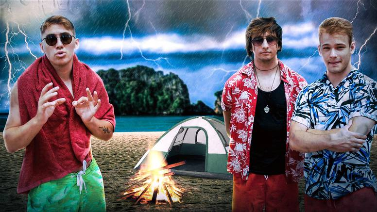 Poznati influenceri 'zaglavili' na pustom otoku: 'Dečki, čini se da će nas uhvatiti i neka oluja...'