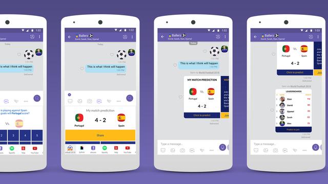 Proslavite Svjetsko prvenstvo Viberovim chat ljestvicama!