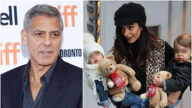 George i Amal dali 800.000 kn da im se blizanci ne dosađuju...