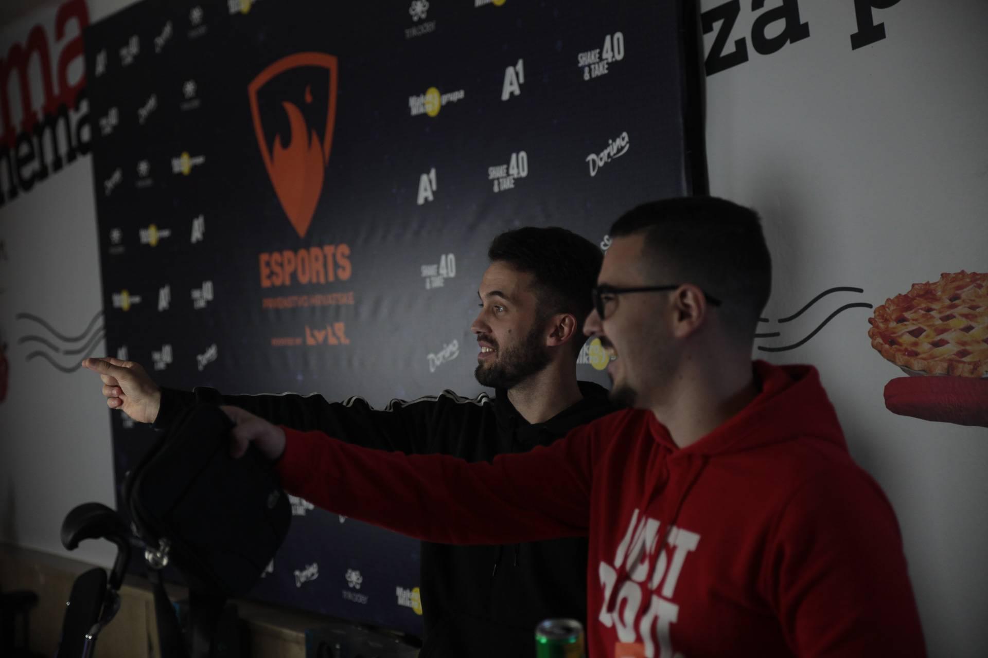 Uživo iz Zagreba: Završnica Esports prvenstva Hrvatske
