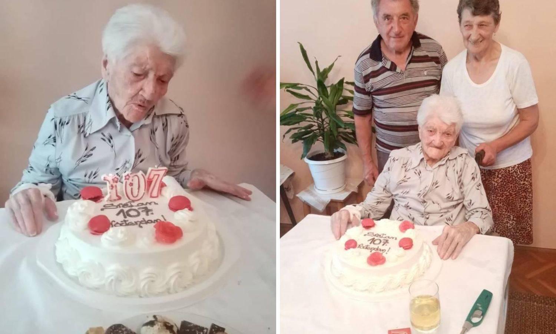 Sretan rođendan baka Anđela! Napunila je čak 107. godina
