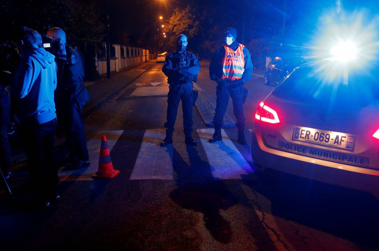 Stabbing attack in the Paris suburb of Conflans St Honorine