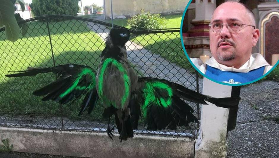 Pobuna protiv svećenika: Na ogradu mu objesili mrtve ptice