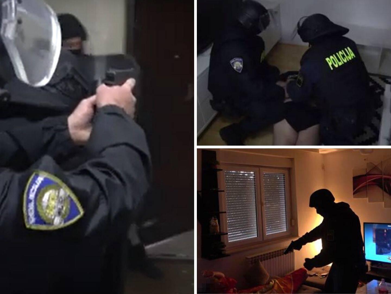 Policija dilerima u Osijeku upala u stanove dok su bili u krevetu