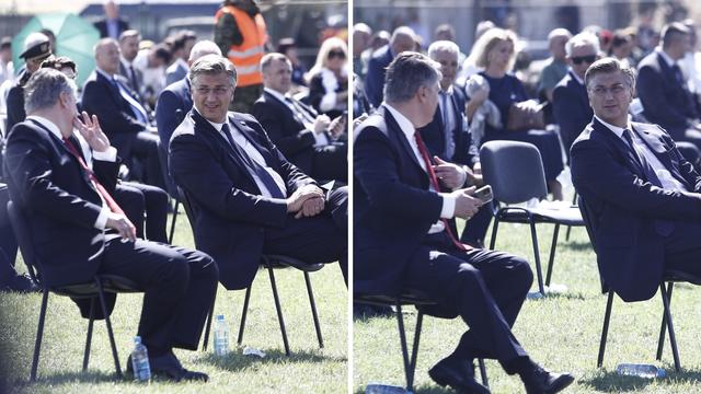 Milanović i Plenković zakopali ratne sjekire? Na obilježavanju Oluje normalno su razgovarali