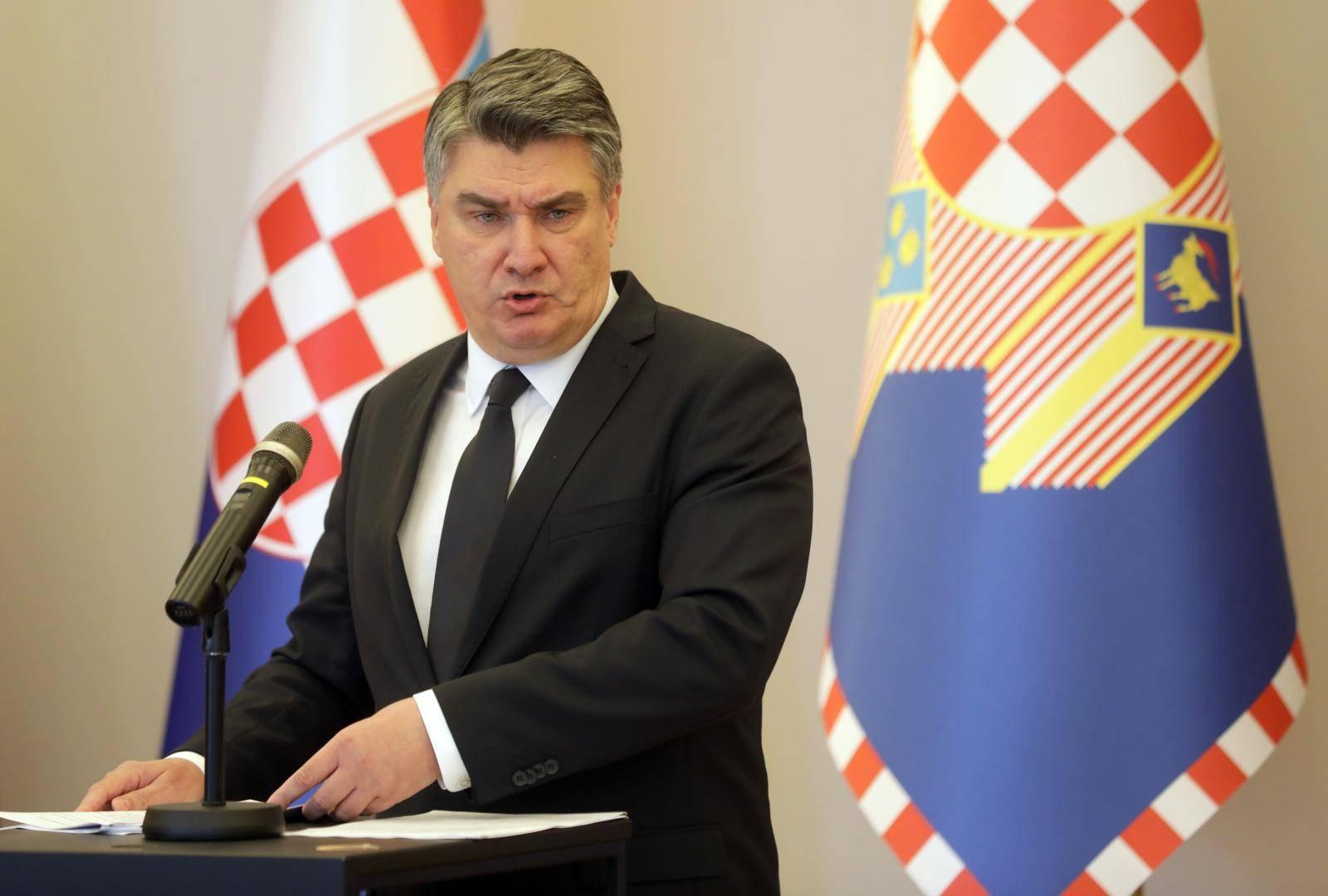 Zagreb: Predsjednik nastavlja verbalni sukob s premijerom Plenkovićem