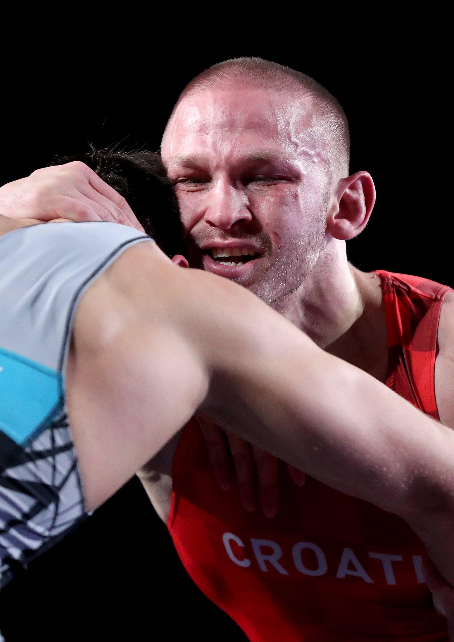 UWW Grand Prix Zagreb Open 2019. Božo Starčević osvojio je zlatnu medalju u kategoriji 77kg