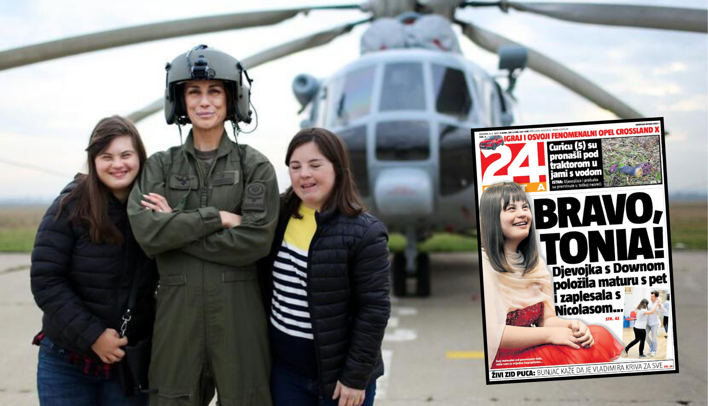 Tonia i Dora postale pilotkinje: 'Ajme, poludjet ćemo od sreće'