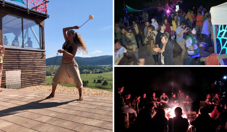 Goli, bosi i u deliriju: Bili smo na psihodeličnom partyju u Lici