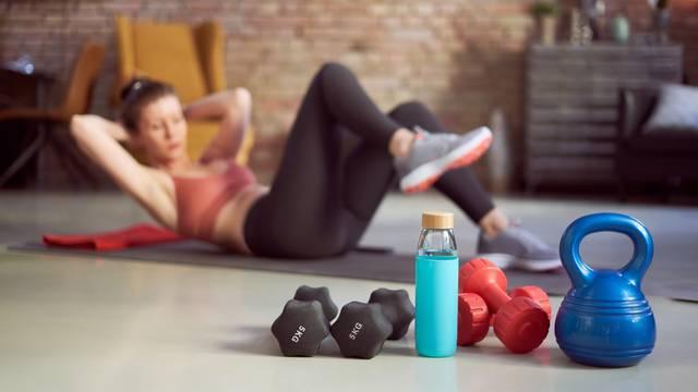 Teretana u malom: Napravite u kući super prostor za vježbanje