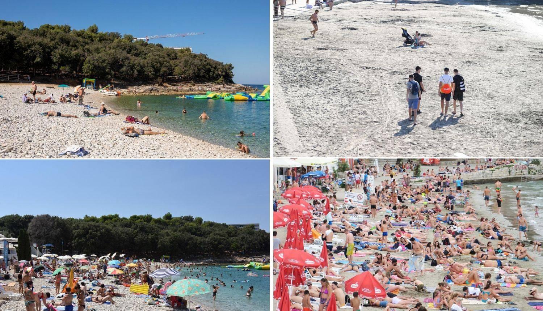 Kako su izgledale plaže dok nije bilo korone i kako izgledaju sad