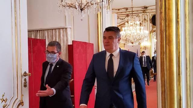 Zoran Milanović na trilaterali u Beču s Pahorom i Bellenom