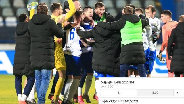 Bjeličin preporod: Osijek prvak? Tečaj je bio 100, sad je samo 5!