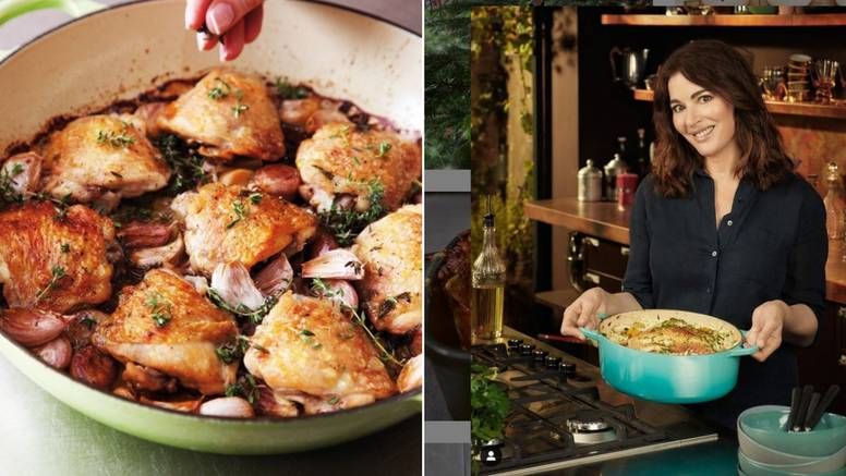 Recept Nigelle Lawson sa 40 češnjeva češnjaka i piletinom