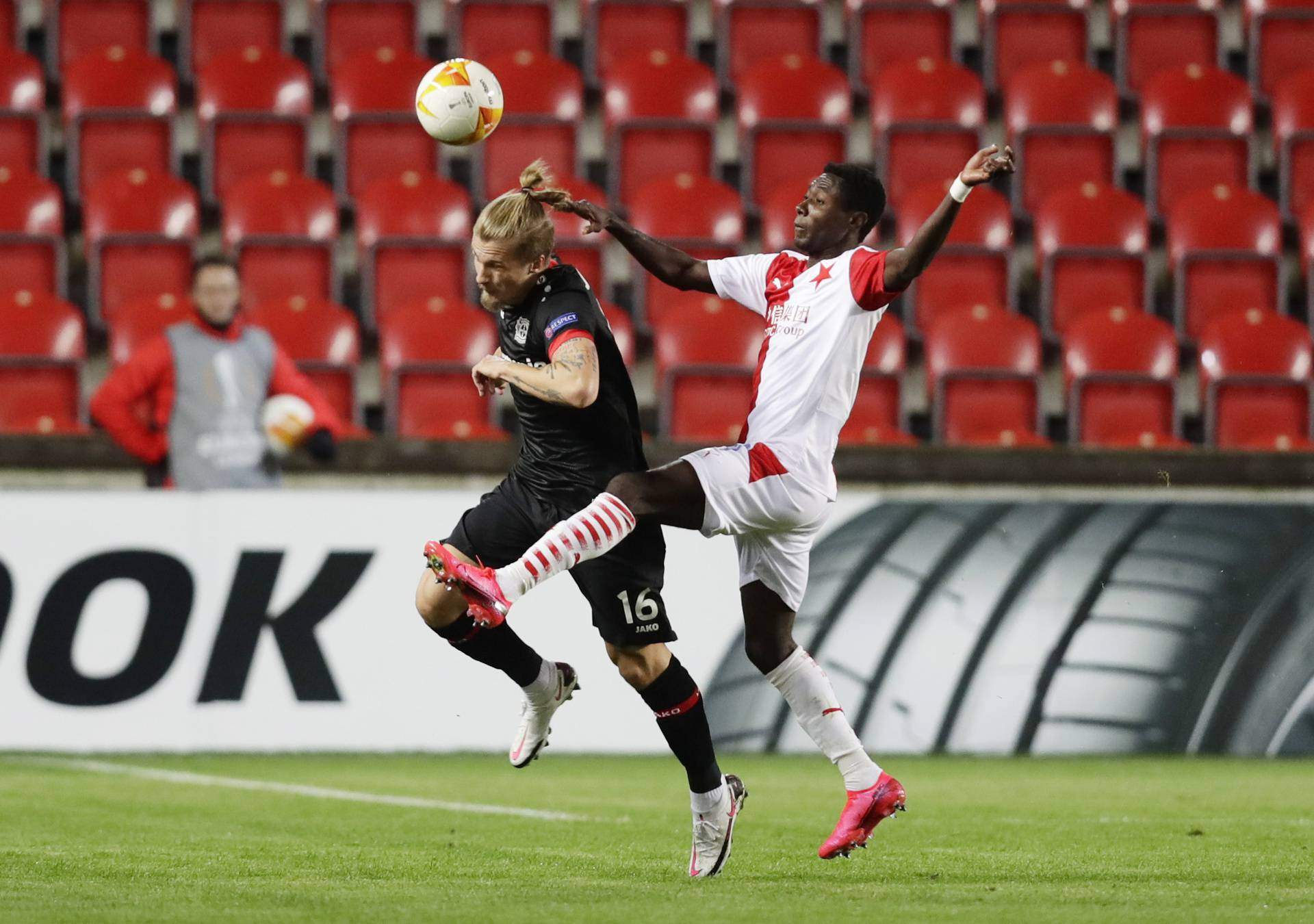 Europa League - Group C - Slavia Prague v Bayer Leverkusen