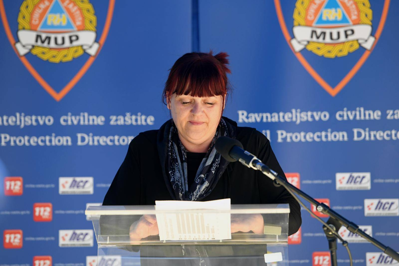 Konferencija za medije Nacionalnog stožera civilne zaštite