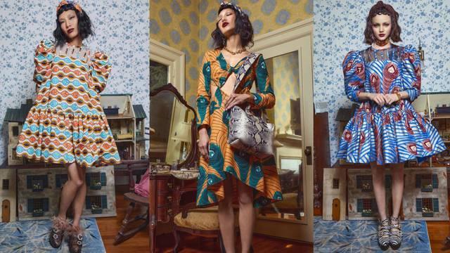 Dizajnerica Autumn Adeigbo ima prijedloge inspirirane dvorskom modom i šarenilom