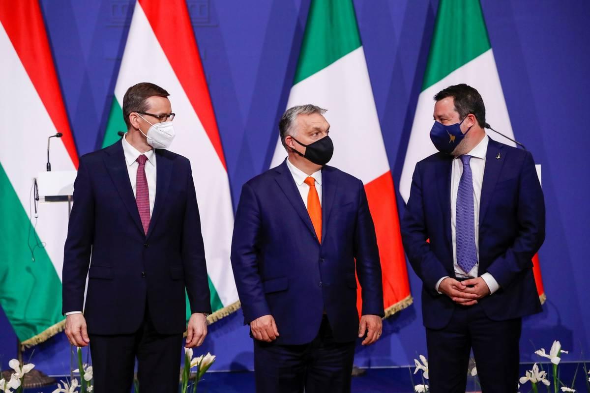 U BRISELU GA NAZIVAJU 'PROPUTINOVSKIM BLOKOM': Europa sa zabrinutošću gleda na desni blok koji su sklopili Morawiecki, Orban i Salvini u Budimpešti