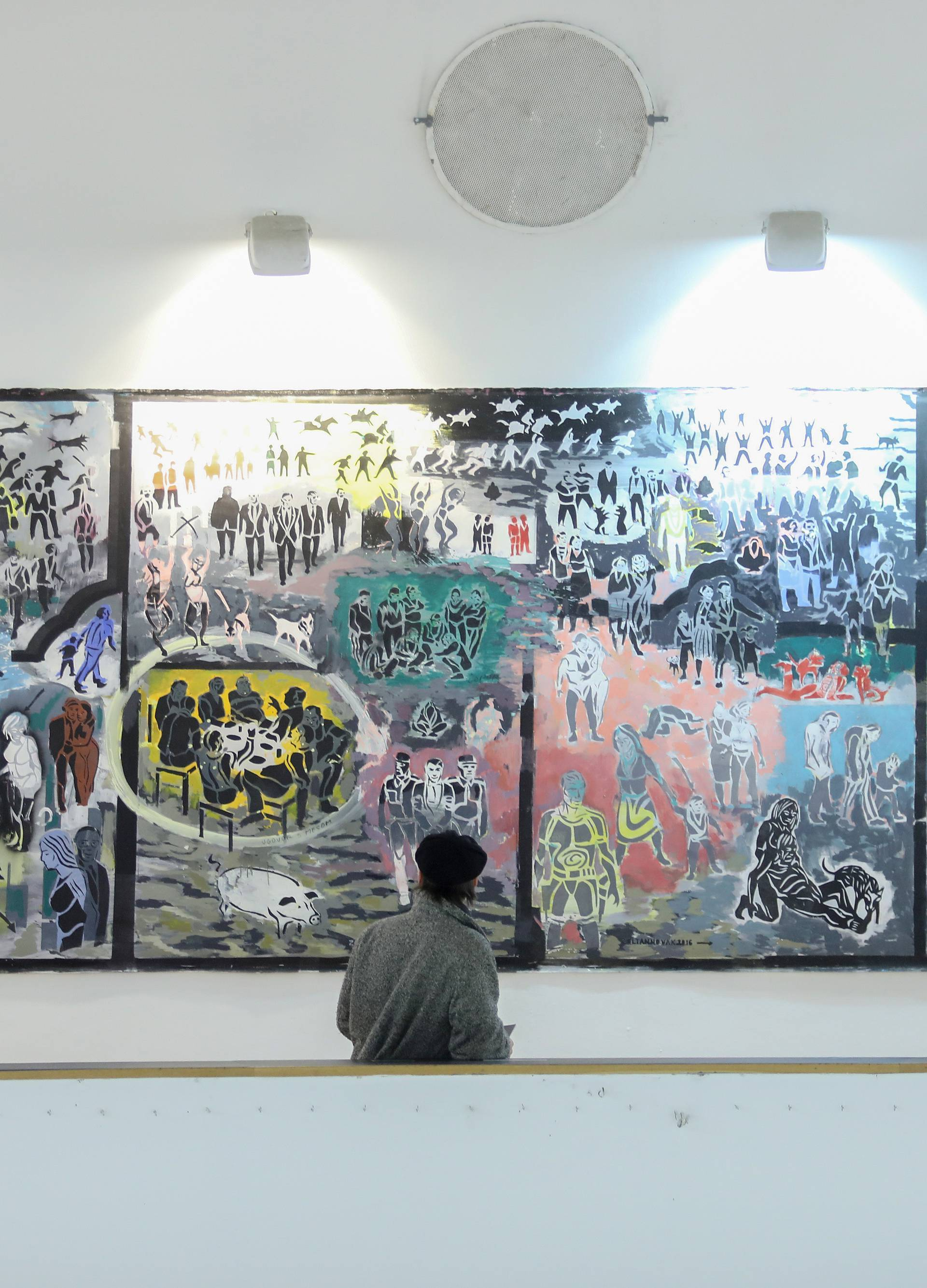 Zagreb: Svečana dodjela nagrada 5. bijenala slikarstva