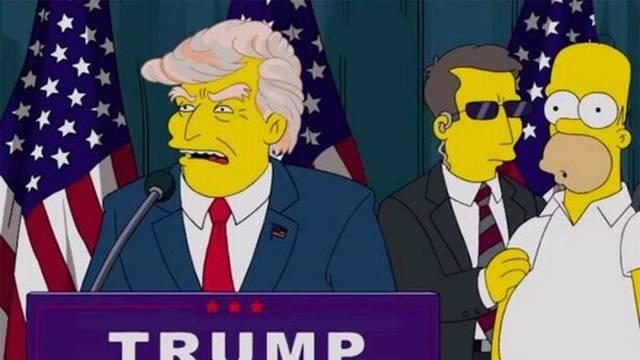 Simpsoni predvidjeli apokalipsu ako Amerikanci ne glasaju: 'Ako Trump ode, koga ćemo sprdati?'