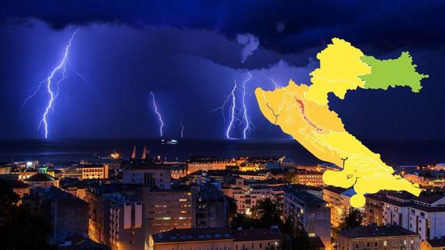 Crveni alarm za dio Hrvatske!